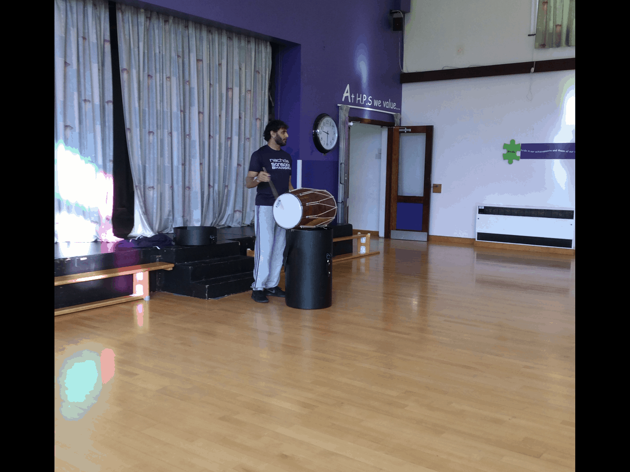 Year Four Learn Bhangra Dancing!