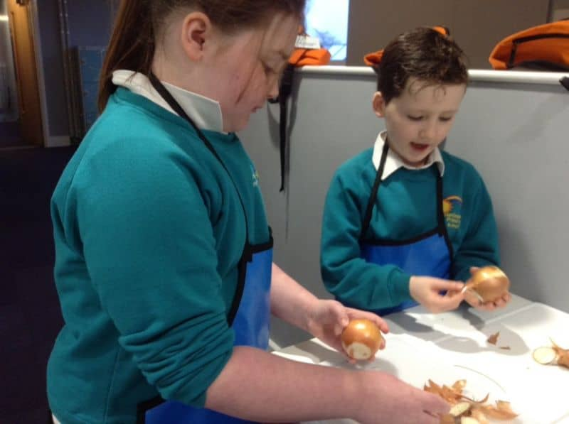 Year Four Cooking Activity
