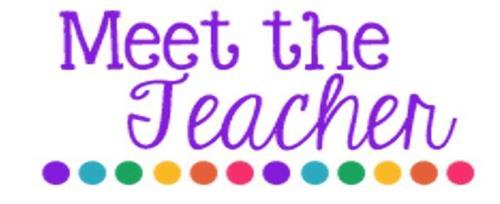 Meet the teacher information