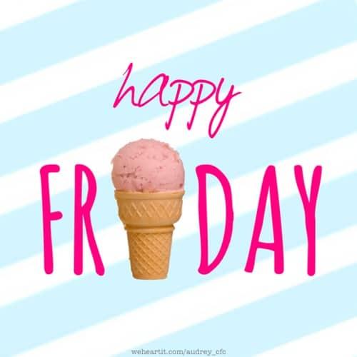 Icecream Friday!