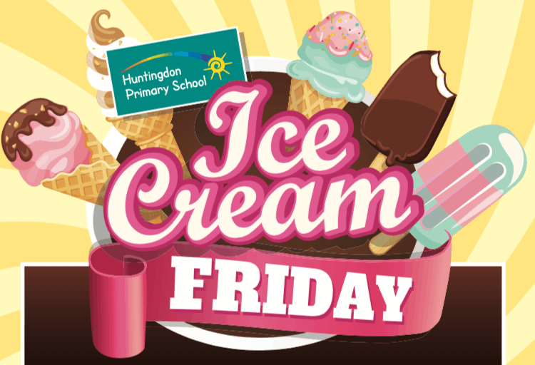 Ice Cream Fridays!