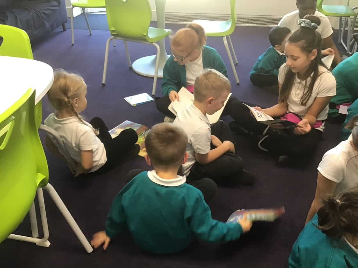 Reading with EYFS