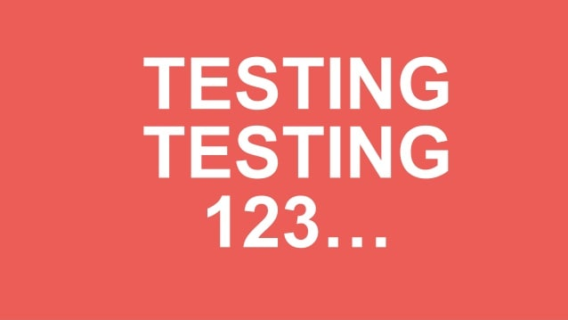 testing texts